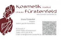 Visitenkarte Kosmetikinstitut Fürstenfeld